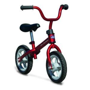 Bicicleta sin pedales con sillín regulable