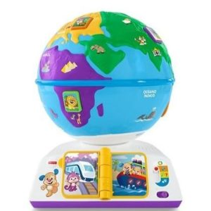 Bola del mundo interactiva Fisher Price
