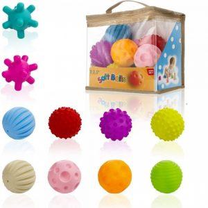 Bolas sensoriales blanditas para bebés