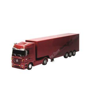 Camión de radiocontrol rojo