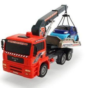 Camión grúa de juguete Dickie