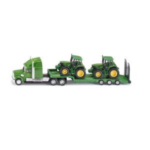 Cargador de baja con los tractores John Deere