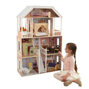 Casa de muñecas 4 plantas