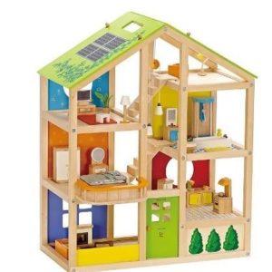Casa de muñecas Amueblada