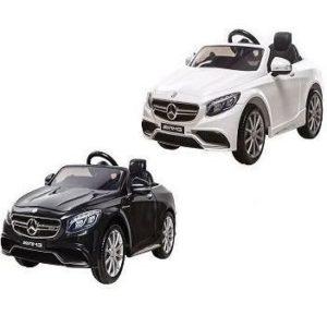 Coche eléctrico infantil Mercedes S63 AMG