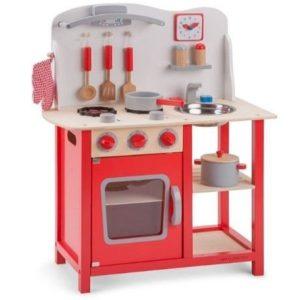 Cocina de madera con accesorios New Classic Toys