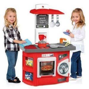 Cocinita de juguete con horno y lavadora Molto