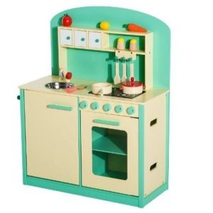 Cocinita de juguete de madera Homcom