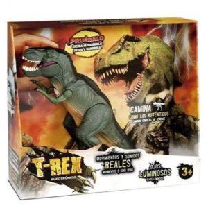 Dinosaurio T-Rex electrónico