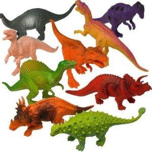 Dinosaurios de juguete Prextex con aspecto realista