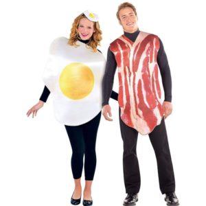 Disfraces para parejas jamón y huevo