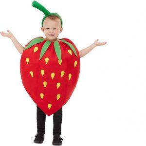 Disfraz de fresa para niño