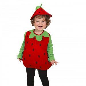 Disfraz divertido de fresa para niños
