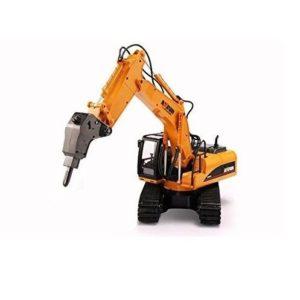 Excavadora de juguete con martillo