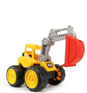 Excavadora de juguete para niños pequeños