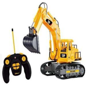 Excavadora teledirigida con luces y sonido
