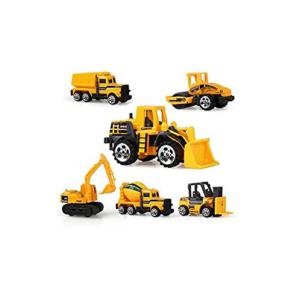 Excavadora y otros vehículos de juguete