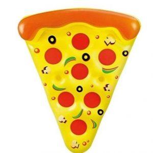 Flotador gigante para piscina de pizza