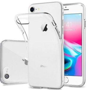 Funda para iPhone 7 y 8 de silicona fina