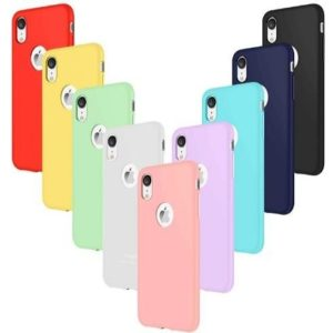 Funda para iPhone de silicona Leathlux