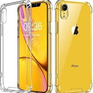 Funda para iPhone de silicona transparente