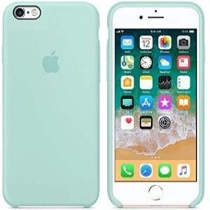 Funda para iPhone de silicona y microfibra