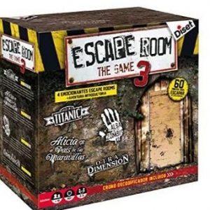 Juego de mesa escape room Diset