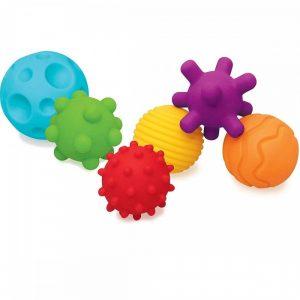 Juegos de bolas juguete sensorial para bebés