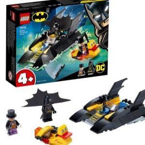 Juguete Batman Caza del pingüino Lego