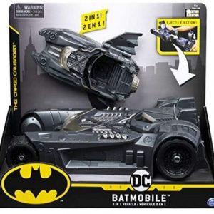 Juguete Batman con vehículo de transformación