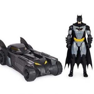 Juguete Batman y Batmobile