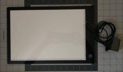 mesas de luz LED para dibujar