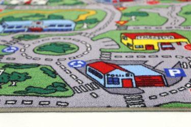 Alfombras infantiles de carreteras