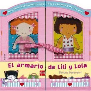 Libro interactivo del armario de Lili y Lola