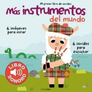 Libro interactivo Más instrumentos