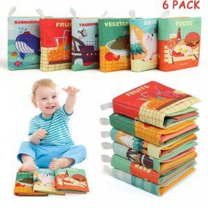Libros suaves para bebés