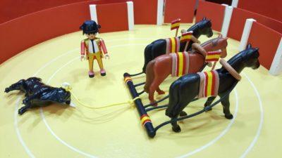 juguetes taurinos de Playmobil