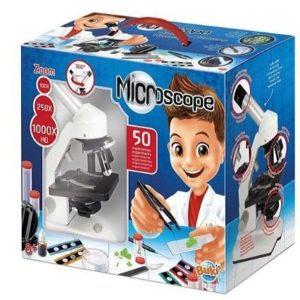 Microscopio para niños Buki con 50 experimentos