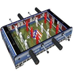 Mini futbolín para niños Atlético de Madrid