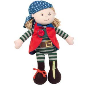 Muñeca de trapo pirata