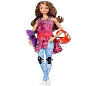 Muñeca patinadora Barbie patinadora