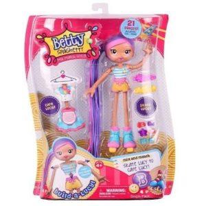 Muñeca patinadora Betty Spaghetty