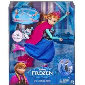 Muñeca patinadora Frozen patinadora