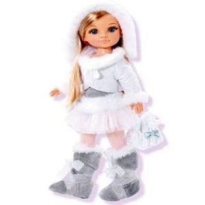 Muñeca patinadora Nancy sobre hielo