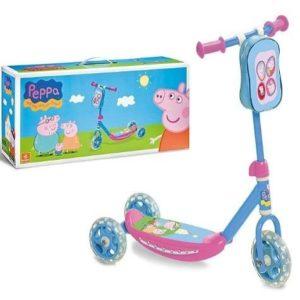 Patinete de tres ruedas Peppa Pig