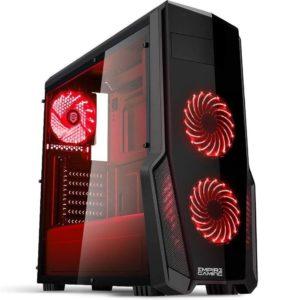 PC de sobremesa gaming con ventilación eficiente