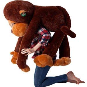Peluche de felpa gigante mono