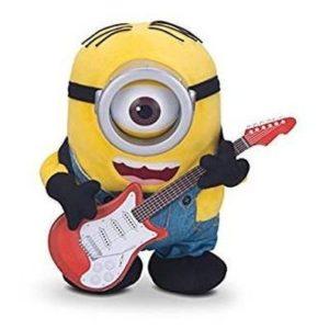 Peluche Minion con guitarra