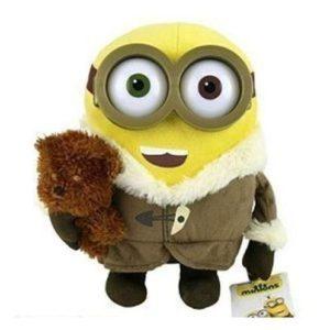 Peluche Minions Bob con abrigo