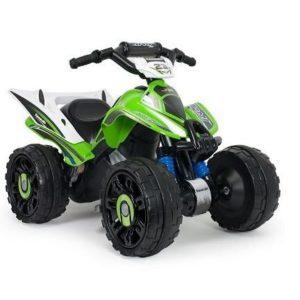 Quad eléctrico para niños Kawasaki 12V